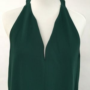 Emerald Knee Length Loft Dress